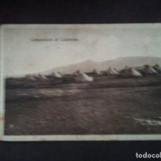 Postales: CAMPAMENTO DE CABRERIZAS. Lote 97861611