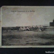 Postales: VISTA DEL CAMPAMENTO DE LA RESTINGA. Lote 97861799