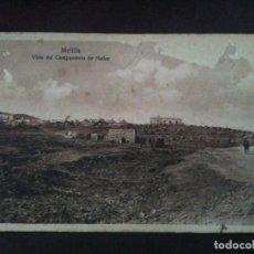 Postales: MELILLA VISTA DEL CAMPAMENTO DE NADOR. Lote 97862211