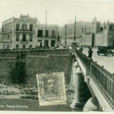 Postales: MELILLA PUENTE REINA VICTORIA. HACIA 1920.. Lote 97951659