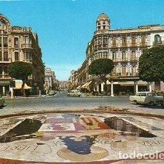 Cartes Postales: MELILLA - 56 PLAZA DE ESPAÑA - AVENIDA DEL GENERALÍSIMO. Lote 98069235