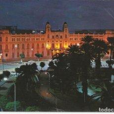 Postales: POSTAL MELILLA - PLAZA ESPAÑA, VISTA NOCTURNA - FISA 1963. Lote 98104715