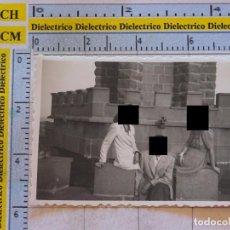 Postais: FOTO FOTOGRAFÍA. AÑOS 40 - 60. MELILLA PROTECTORADO ESPAÑOL EN MARRUECOS. MUJERES EN EL FARO. Lote 99905215