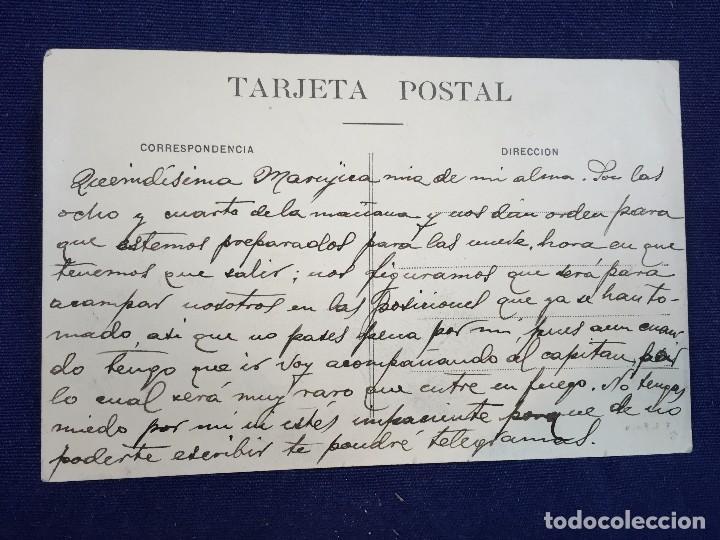 Postales: MELILLA BARRIO DE BUEN ACUERDO CIRCULADA 22/2/1909 - Foto 2 - 102548895
