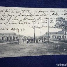 Postales: MELILLA BARRIO DE BUEN ACUERDO CIRCULADA 22/2/1909. Lote 102548895