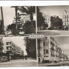 Postales: MELILLA - POSTAL MOSAICO 4 VISTAS - Nº 55. Lote 102708127