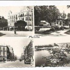 Postales: MELILLA - POSTAL MOSAICO 4 VISTAS - Nº 56 ED. BOIX. Lote 102708207