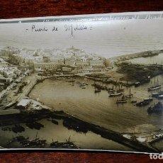 Cartoline: FOTOGRAFIA DE MELILLA, PUERTO, SEPTIEMBRE DE 1923. VISTA AEREA (AERODROMO DE NADOR), PLENA CAMPAÑA D. Lote 103466643