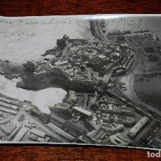 Cartoline: FOTOGRAFIA AEREA DE MELILLA, PUEBLO ANTIGUO, CABO TRES FORCAS Y PUERTO, ABRIL DE 1923, PLENA GUERRA . Lote 103474087