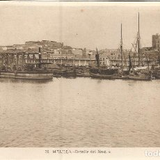 Postales: MELILLA, DETALLE DEL MUELLE - L.ROISIN 29 - S/C. Lote 103728491