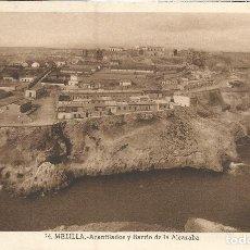 Postales: MELILLA, ACANTILADOS Y BARRIO DE LA ALCAZABA - L.ROISIN 24 - S/C. Lote 103728619