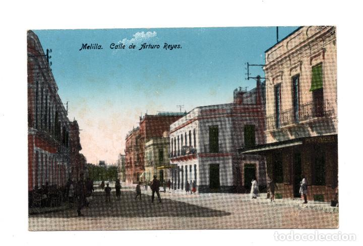 MELILLA.- CALLE DE ARTURO REYES (Postales - España - Melilla Antigua (hasta 1939))