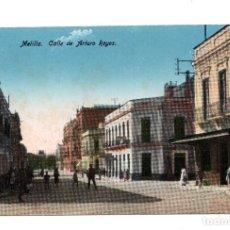 Postales: MELILLA.- CALLE DE ARTURO REYES. Lote 104597287