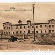 Cartes Postales: MELILLA COLEGIO HERMANOS DE LA DOCTRINA CRISTIANA ( CRUZ ROJA ). SIN CIRCULAR. Lote 104644771