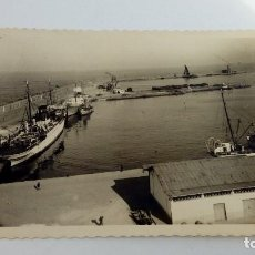 Postales: POSTAL DE MELILLA ANTIGUA EL PUERTO 1958 CIRCULADA . Lote 105264823