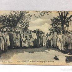 Postales: POSTAL ALGERIA MELILLA 1909. Lote 108624531
