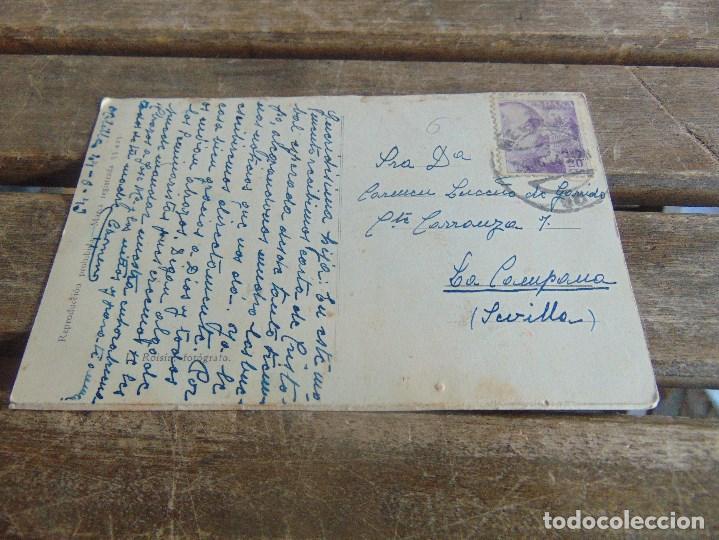 Postales: TARJETA POSTAL DE MELILLA VISTA PARCIAL CIRCULADA - Foto 2 - 110639747