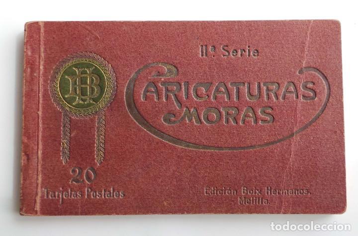 COLECCION CARICATURAS MORAS. 19 TARJETAS. DE 20 QUE ES LA SERIE 2ª. ED. HERMANOS BOIX. MELILLA (Postales - España - Melilla Antigua (hasta 1939))