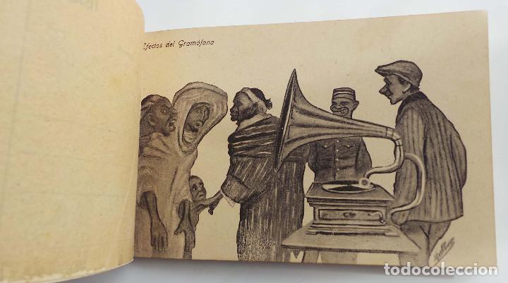 Postales: COLECCION CARICATURAS MORAS. 19 TARJETAS. DE 20 QUE ES LA SERIE 2ª. ED. HERMANOS BOIX. MELILLA - Foto 10 - 155978841