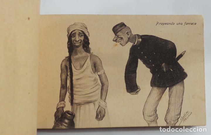 Postales: COLECCION CARICATURAS MORAS. 19 TARJETAS. DE 20 QUE ES LA SERIE 2ª. ED. HERMANOS BOIX. MELILLA - Foto 16 - 155978841