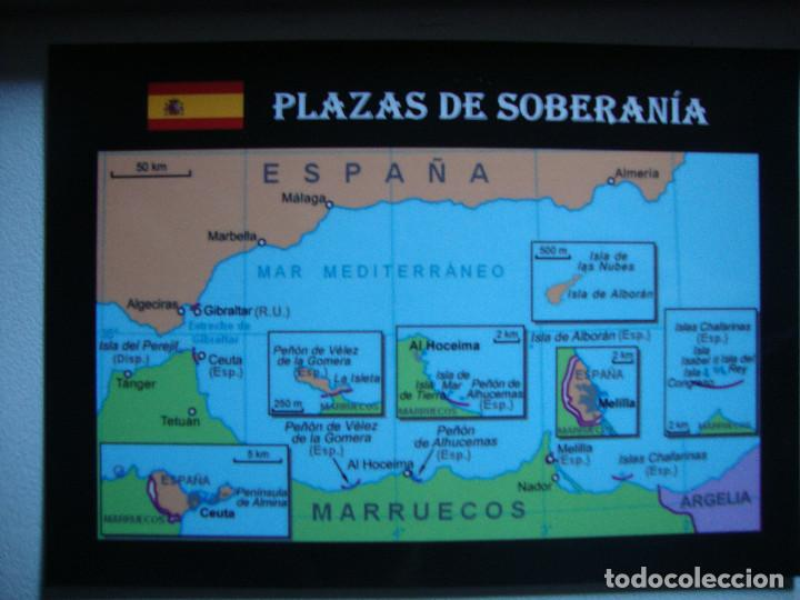 Ceuta Y Melilla Mapa.Mapa Plazas De Soberania Melilla Ceuta Alboran Sold