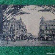 Postales: MELILLA CALLE DE ALFONSO XIII EDITOR M ARRIBAS ESPOZ Y MINA . Lote 119038755