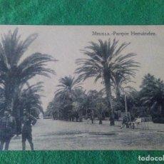 Postales: MELILLA PARQUE HERNANDEZ EDITOR M ARRIBAS . Lote 119043735