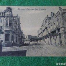 Postales: MELILLA CALLE DE SOR ALEGRIA M ARRIBAS . Lote 119043759
