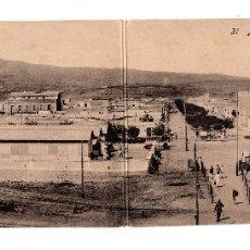 Postales: MELILLA.- VISTA GENERAL DEL BARRIO DEL REAL. Lote 119236239