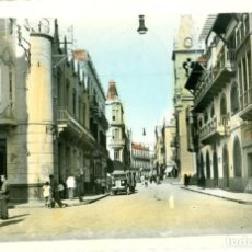 Postales: MELILLA CALLE DEL EJÉRCITO ESPAÑOL. CIRCULADA DESDE MARRUECOS EN 1953.. Lote 120461903