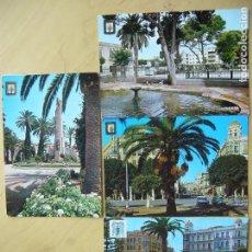 Postales: LOTE 4 POSTALES DE MELILLA. Lote 120802699
