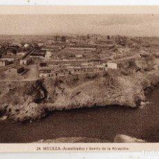 Postales: MELILLA. ACANTILADOS Y BARRIO DE LA ALCAZABA.. Lote 121023043
