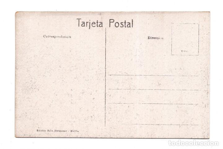 Postales: MELILLA.- CALLE DEL GENERAL MARINA. EDICIONES BOIX HERMANOS - Foto 2 - 121532947