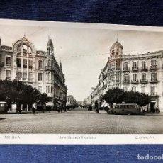 Postales: POSTAL AVENIDA DE LA REPÚBLICA MELILLA FOTÓGRAFO L ROISIN SIN CIRCULAR PPIO S XX . Lote 121593311