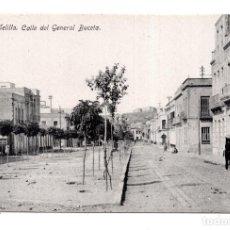 Postales: MELILLA.- CALLE DEL GENERAL BUCETA - ED. BOIX HERMANOS. Lote 122719603