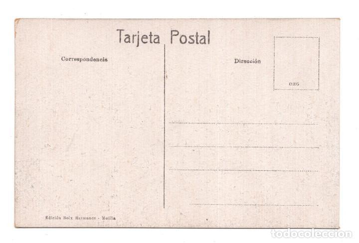 Postales: MELILLA.- CALLE DEL GENERAL BUCETA - ED. BOIX HERMANOS - Foto 2 - 122719603