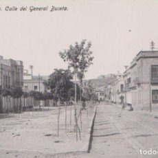 Postales: MELILLA - CALLE DEL GENERAL BUCETA. Lote 125232643