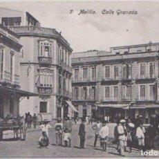Postales: MELILLA - CALLE GRANADA. Lote 125232815