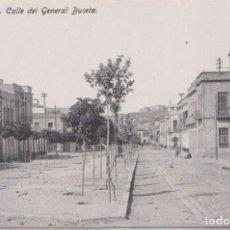 Postales: MELILLA CALLE DEL GENERAL BUCETA. Lote 126779187