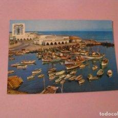 Postales: POSTAL DE MELILLA. DARSENA PESQUERA. ED. MONTERO.. Lote 127164259