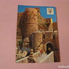 Postales: POSTAL DE MELILLA. CIUDAD VIEJA. ED. MONTERO. CIRCULADA 1975.. Lote 127164543