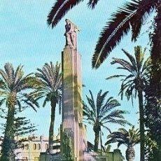 Postales: MELILLA - MONUMENTO PLAZA DE ESPAÑA. Lote 127528455