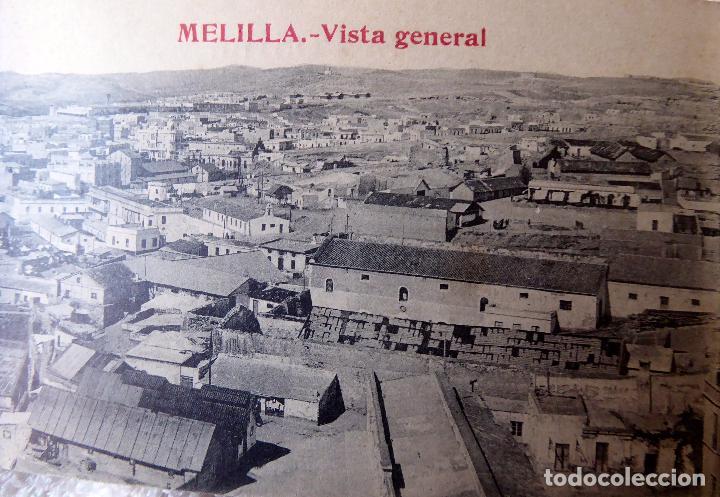 Postales: P-8406. MELILLA. CUADERNO DE 20 POSTALES RECUERDO DE MELILLA. PPIO. AÑOS 30.BOIX HERMANOS. 2ª SERIE - Foto 3 - 127663007