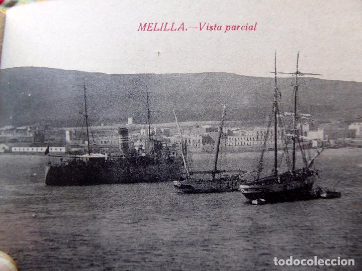 Postales: P-8406. MELILLA. CUADERNO DE 20 POSTALES RECUERDO DE MELILLA. PPIO. AÑOS 30.BOIX HERMANOS. 2ª SERIE - Foto 14 - 127663007