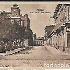 Postales: POSTAL * MELILLA , VISTA DE LA CALLE FALCÓN * ESPAÑA NUEVA . Lote 128050783