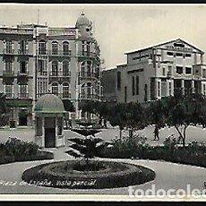 Postales: POSTAL * MELILLA , VISTA PARCIAL PLAZA DE ESPAÑA * EDICIÓN BOIX HNOS. Lote 128050887