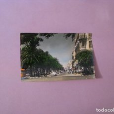 Postales: POSTAL FOTOGRÁFICA DE MELILLA. CALLE DEL GENERAL MARINA. COLOREADA. ED. RAFAEL BOIX.. Lote 128176367