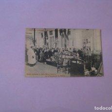 Cartes Postales: EXPOSICIÓN DE MELILLA. CENTROS COMERCIALES HISPANO-MARROQUÍES. MOROS EN LA SALA REINA VICTORIA.. Lote 128177795
