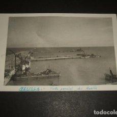 Postales: MELILLA VISTA PARCIAL DEL MUELLE POSTAL FOTOGRAFICA HACIA 1925. Lote 128692347