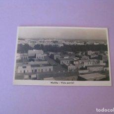 Postales: POSTAL DE MELILLA. VISTA GENERAL. ESCRITA.. Lote 132813870